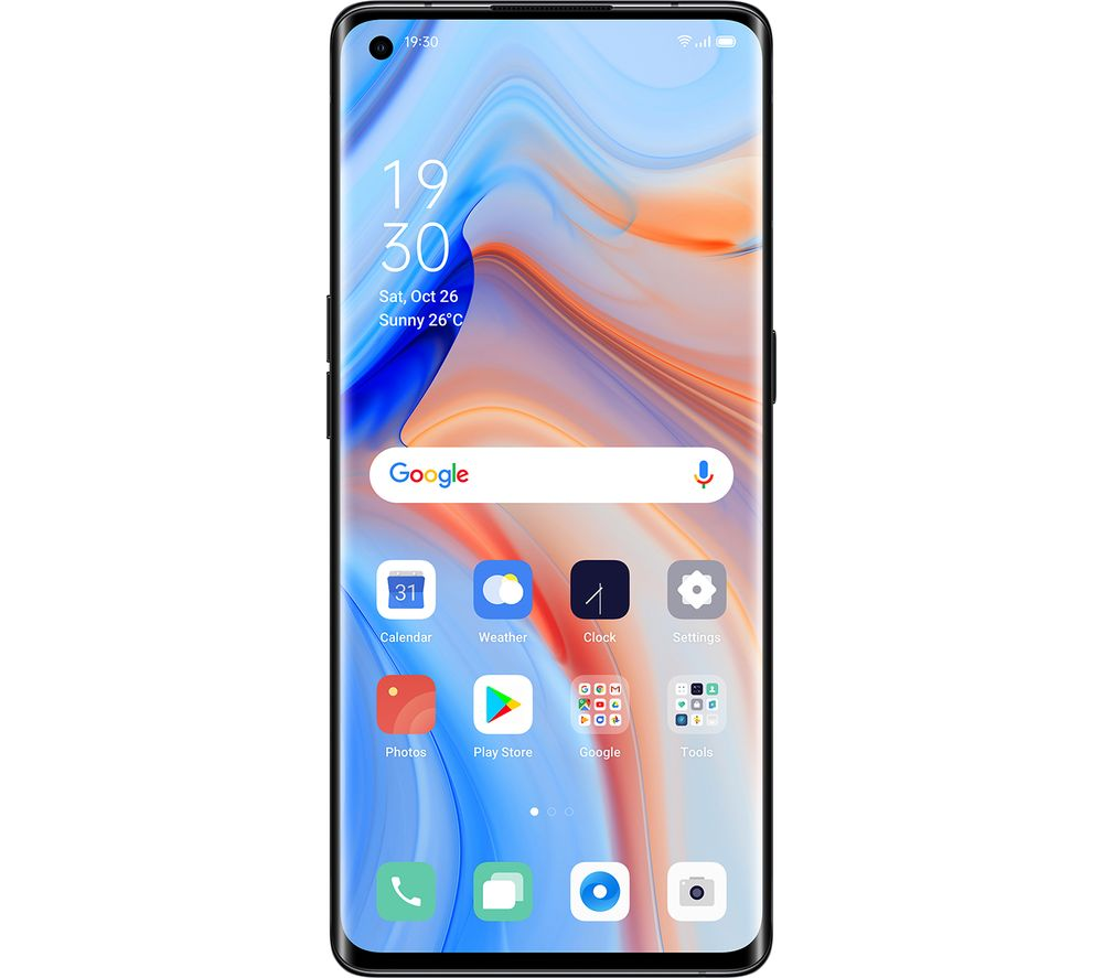 OPPO Reno 4 Pro - 256 GB, Space Black, Black