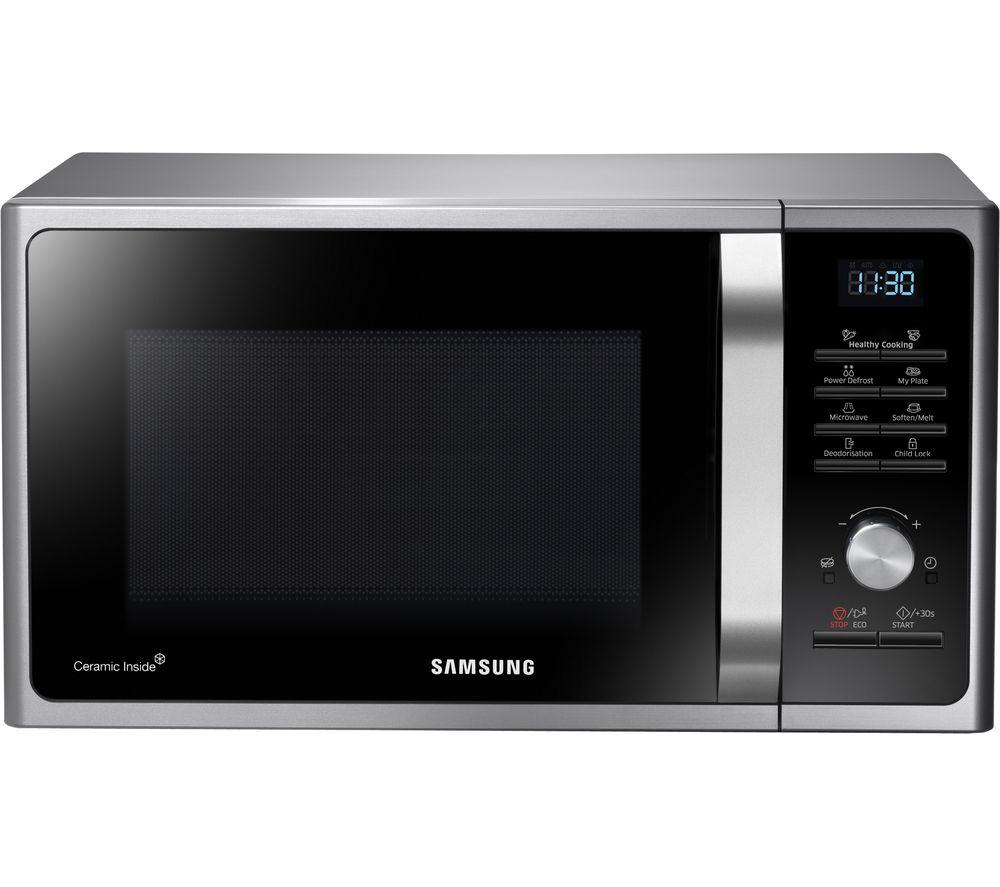 SAMSUNG MS28F303TAS/EU Solo Microwave - Silver, Silver