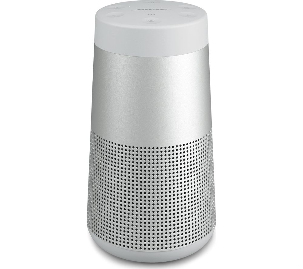 BOSE SoundLink Revolve II Portable Bluetooth Speaker - Luxe Silver