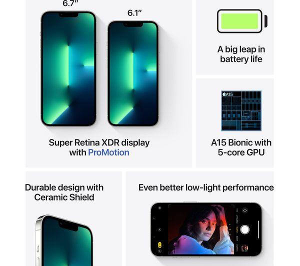 Apple iPhone 13 Pro - 512 GB, Silver 7
