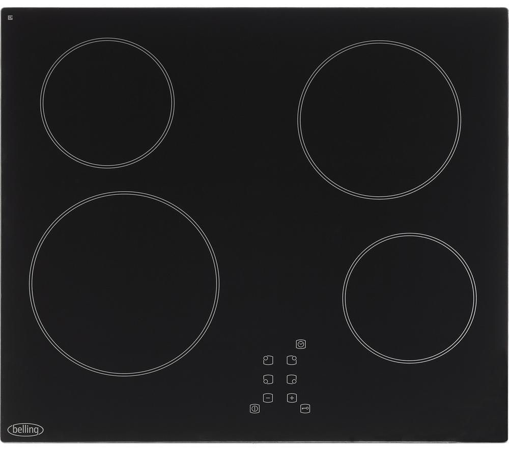 BELLING  CT601 Electric Ceramic Hob - Black, Black