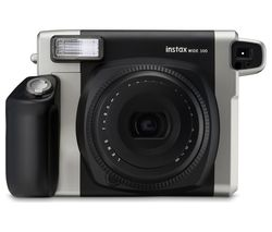 INSTAX WIDE 300 Instant Camera - Black & Silver