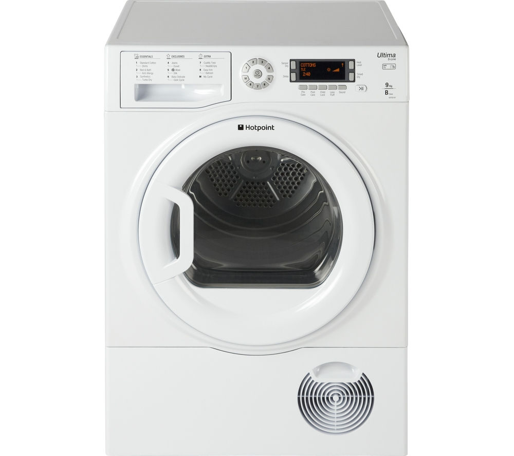 HOTPOINT Ultima S-Line SUTCD97B6PM Condenser Tumble Dryer - White
