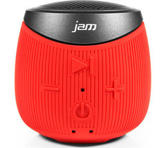 JAM Double Down HX-P370RD-EU Portable Bluetooth Wireless Speaker - Red