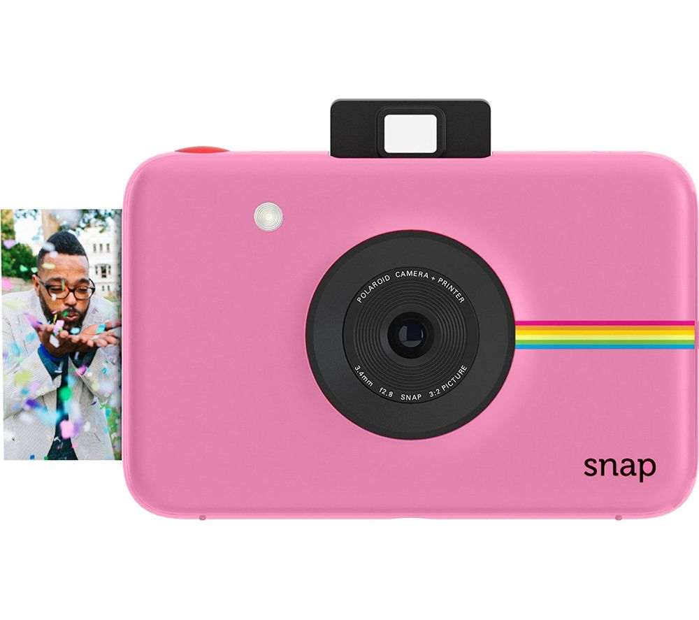Buy POLAROID Snap Instant Camera - Pink | Free Delivery | Currys