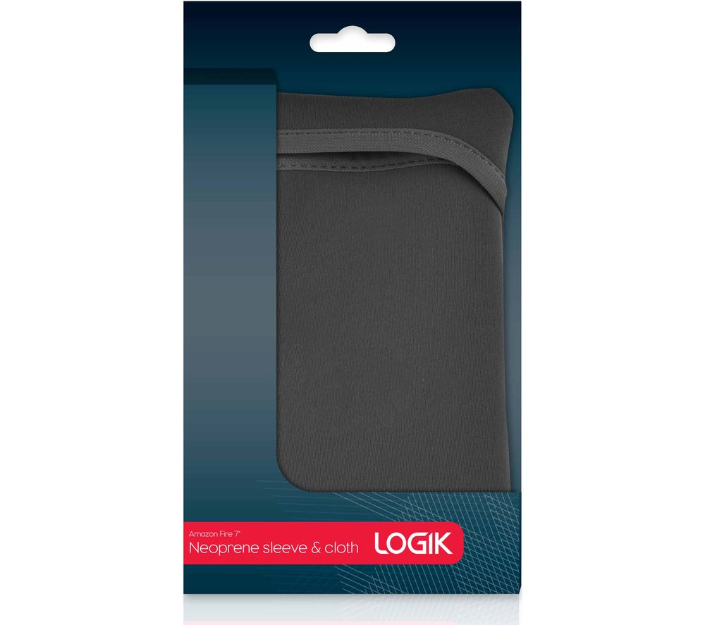 "LOGIK L7NSBK16 Amazon Fire 7"" Sleeve - Black"