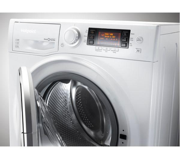 Cheap Washer Dryer Uk Part - 35: HOTPOINT RD 1076 JD UK Washer Dryer - White