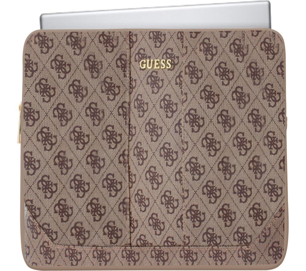 "GUESS 13"" Laptop Sleeve - Brown"