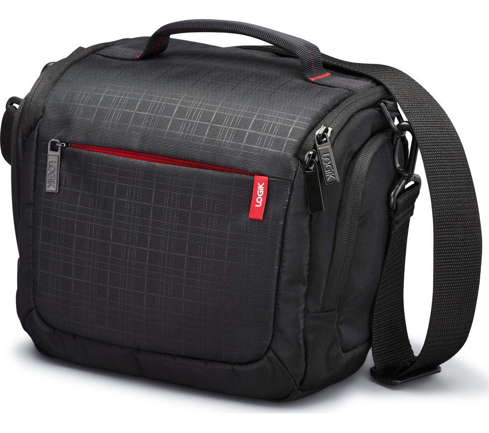 Buy LOGIK LCQDSLR17 DSLR Camera Case - Black | Free Delivery | Currys