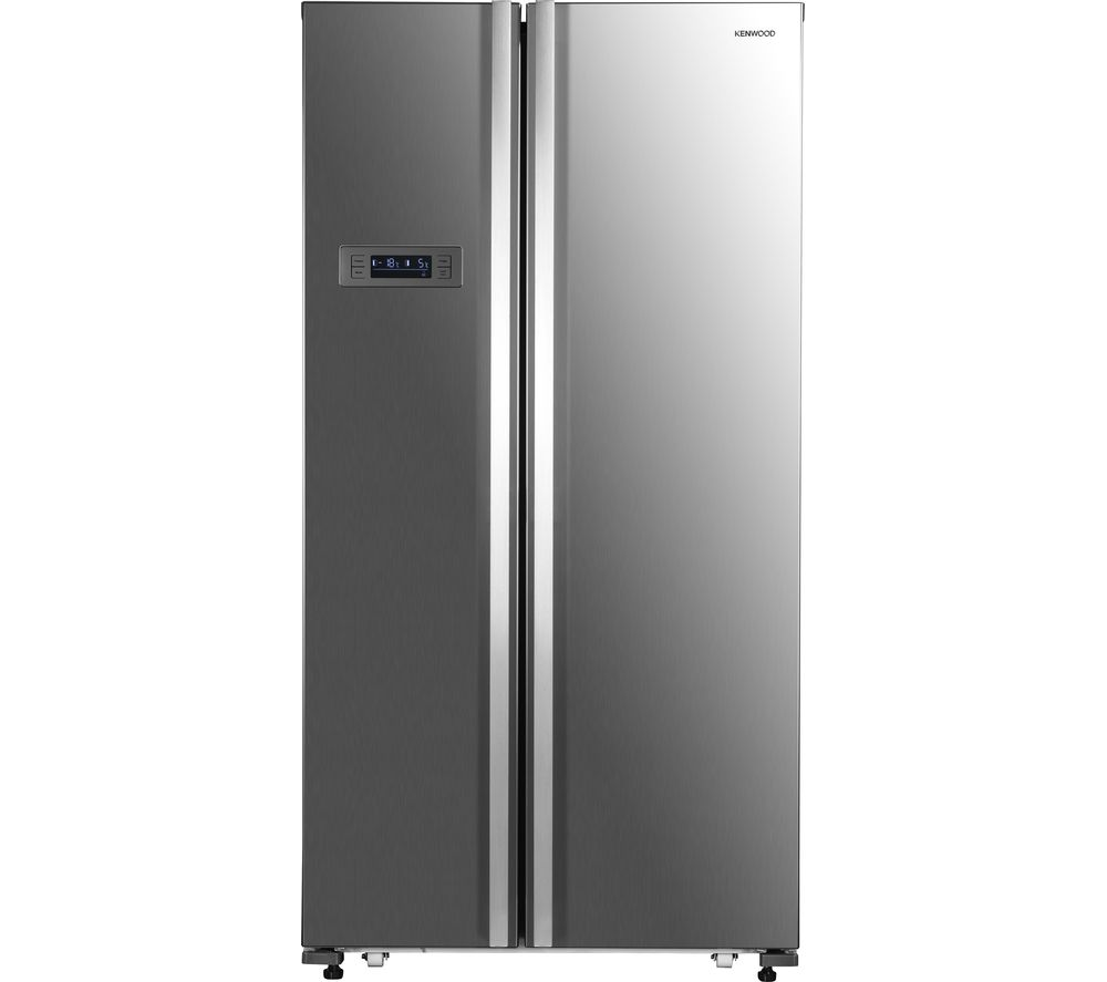 KENWOOD American-Style Fridge Freezer Inox KSBSX17