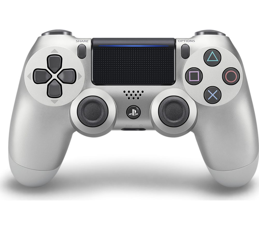 PLAYSTATION 4 DualShock 4 V2 Wireless Controller - Silver, Silver Review thumbnail