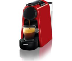 NESPRESSO by Magimix Essenza Mini Coffee Machine - Ruby Red