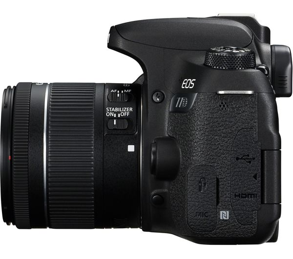 CANON EOS 77D DSLR Camera with EF-S 18-55 mm f/4-5 6 IS STM Lens