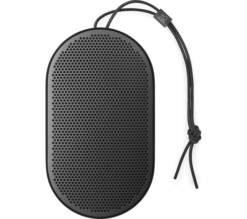 Image of B&O B&O BEOPLAY P2 Portable Bluetooth Wireless Speaker - Black, Black