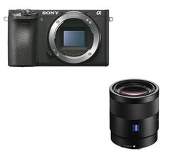 SONY a6500 Mirrorless Camera - Black, Body Only
