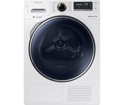 SAMSUNG DV90M8204AW/EU Smart 9 kg Heat Pump Tumble Dryer - White