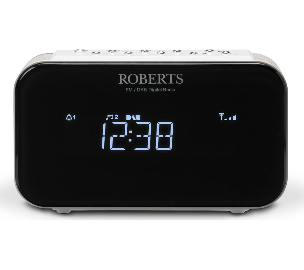 Compare retail prices of Roberts ORTUS1 DAB Clock Radio - White to get the best deal online