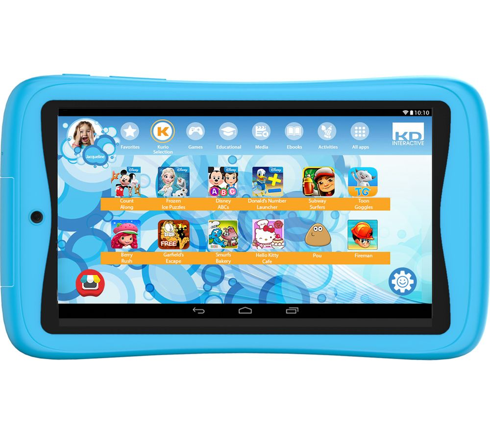 "KURIO Advance C17150 7"" Kids Tablet - 16 GB, Blue"