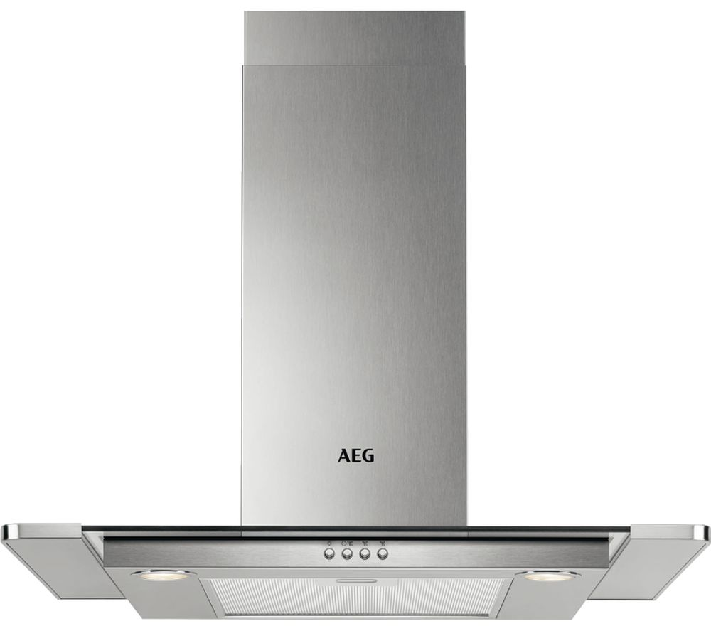 AEG DTB3650M Chimney Cooker Hood - Stainless Steel