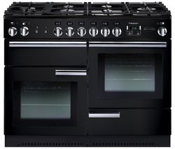PROP110NGFGB/C Gas Range Cooker - Black