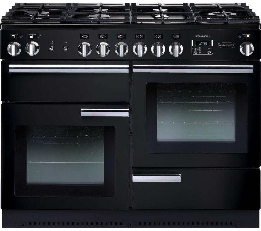 RANGEMASTER PROP110NGFGB/C Gas Range Cooker - Black
