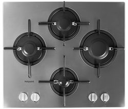 FTGHL 641 D/IX/H Gas Hob - Stainless Steel