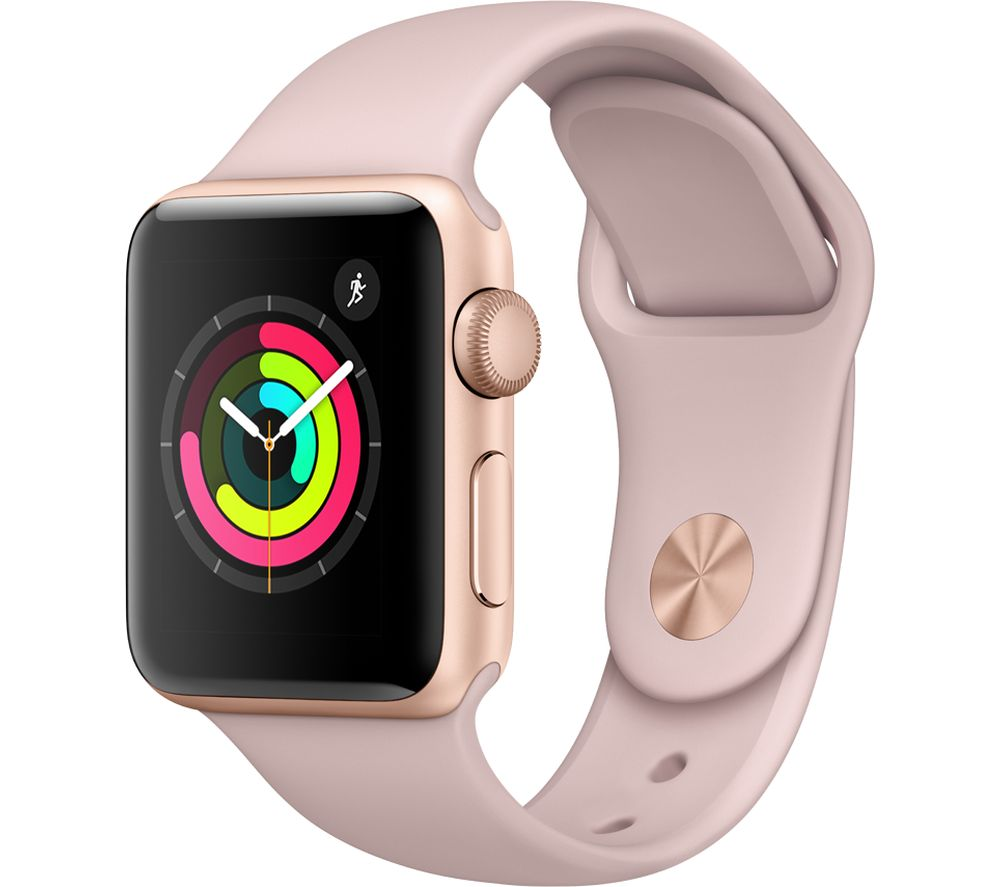 APPLE Watch Series 3 - Pink, 38 mm