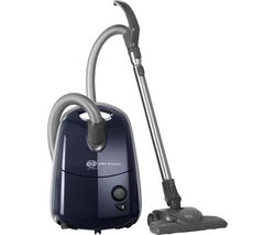 SEBO Airbelt E1 Komfort ePower Cylinder Vacuum Cleaner - Dark Blue