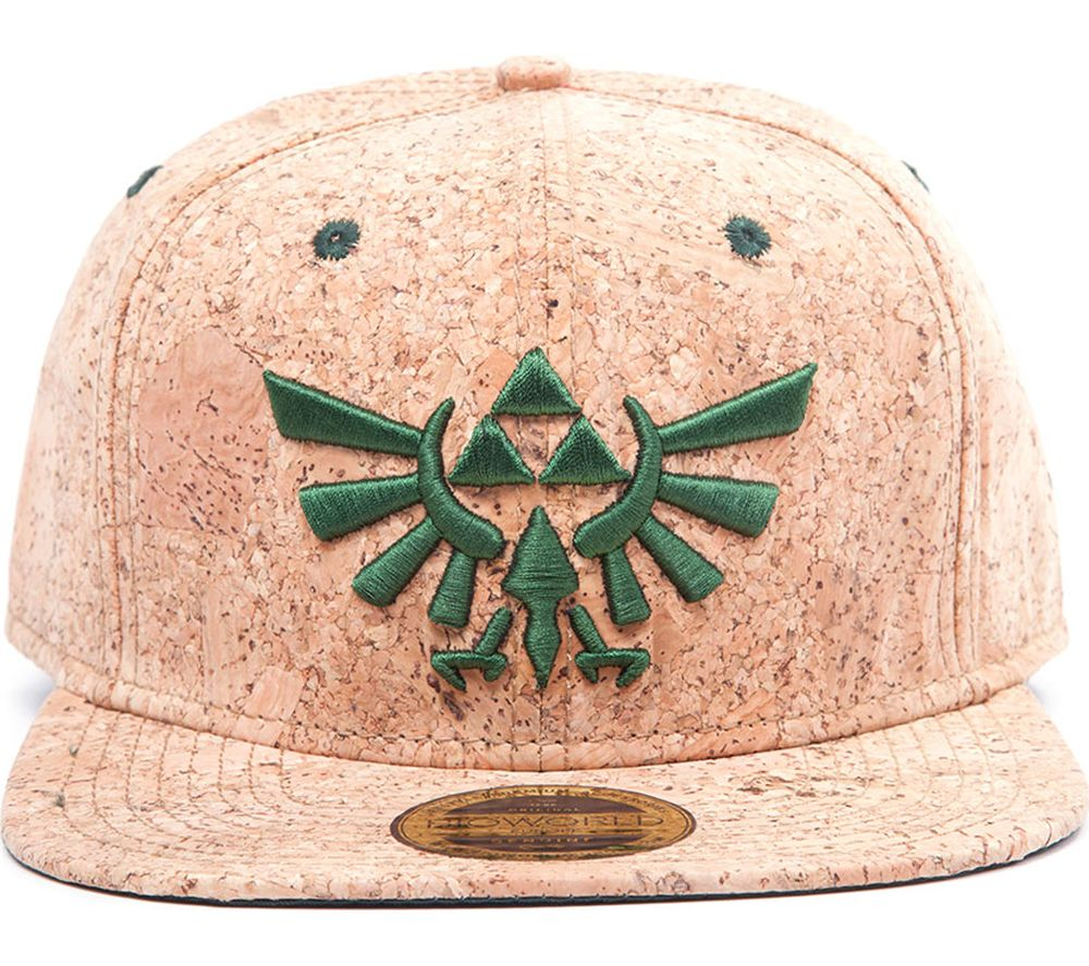 ZELDA Triforce Logo Snapback Cap - Cork Review thumbnail