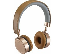 Collection GTCONRG18 Wireless Bluetooth Headphones - Rosegold