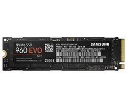 "SAMSUNG 960 EVO M.2 2.5"" Internal SSD - 250 GB"