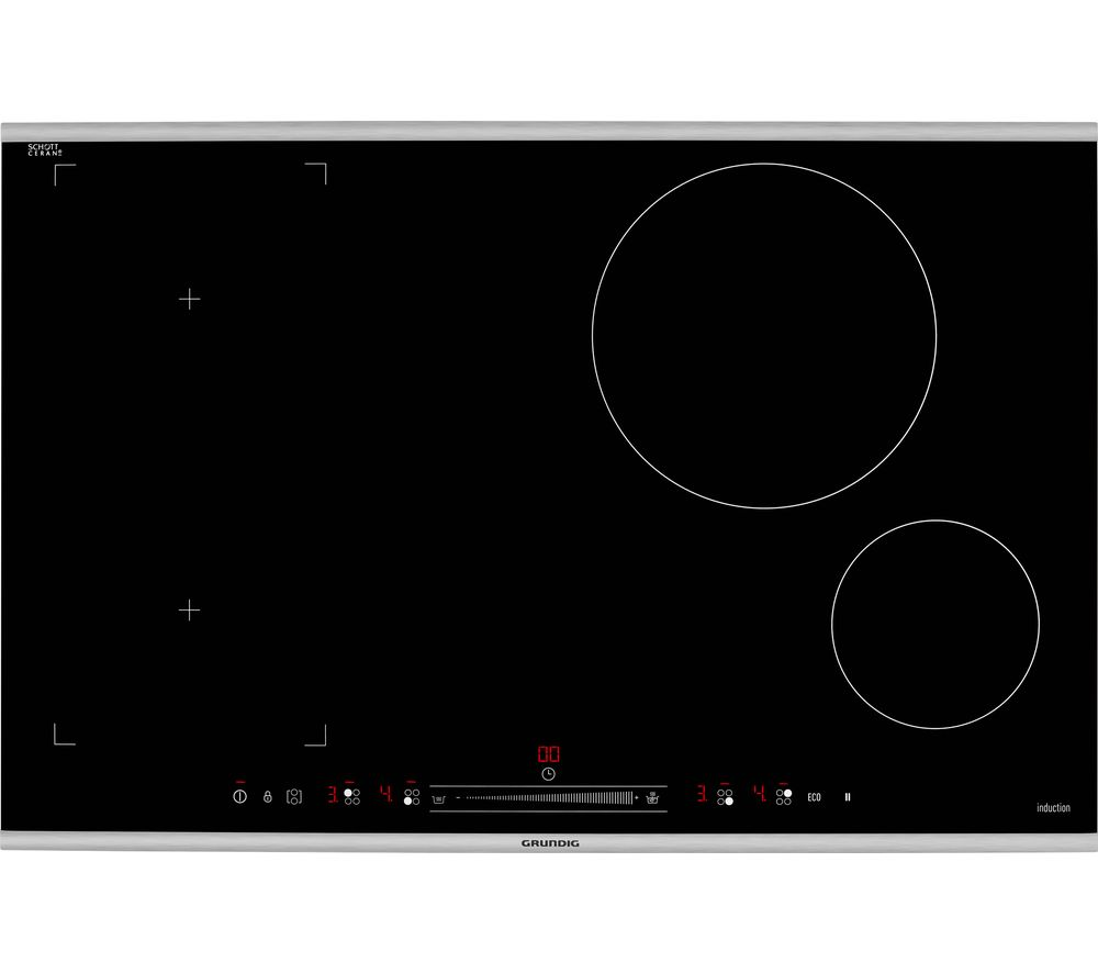 GRUNDIG GIEI824470HX Electric Induction Hob - Black