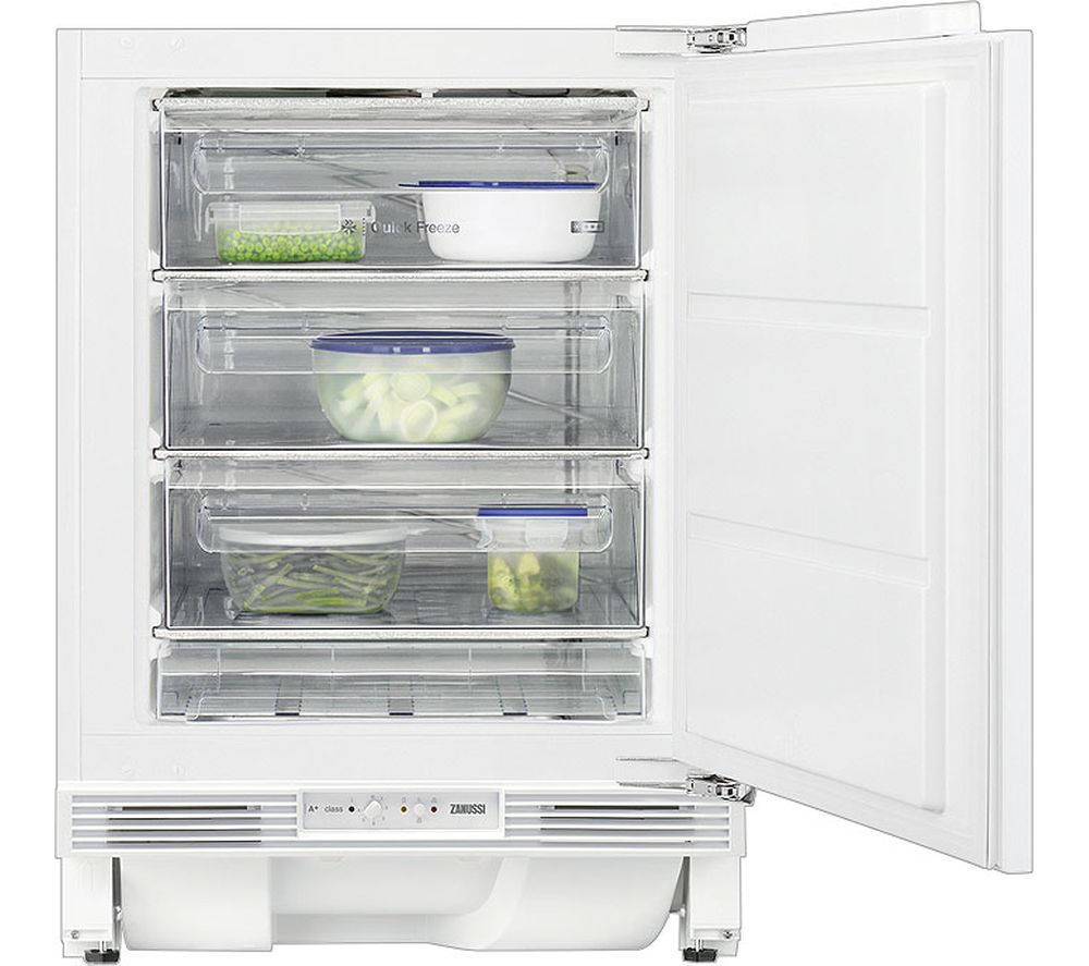 ZANUSSI ZQF11431DV Integrated Undercounter Freezer