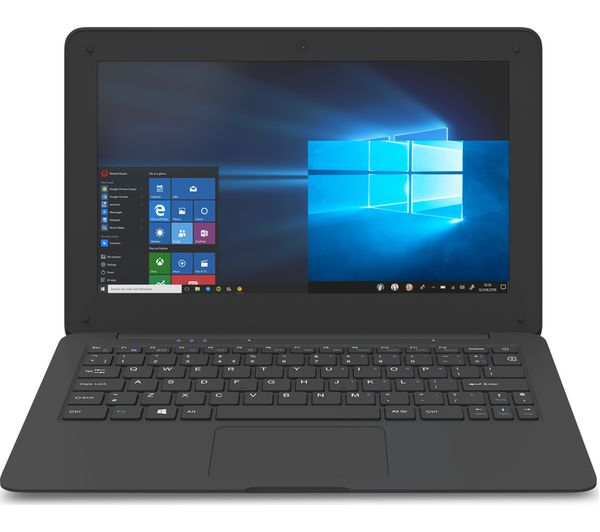 "Image of GEO Book 1 11.6"" Intel® Celeron® Laptop - 32 GB eMMC, Black"
