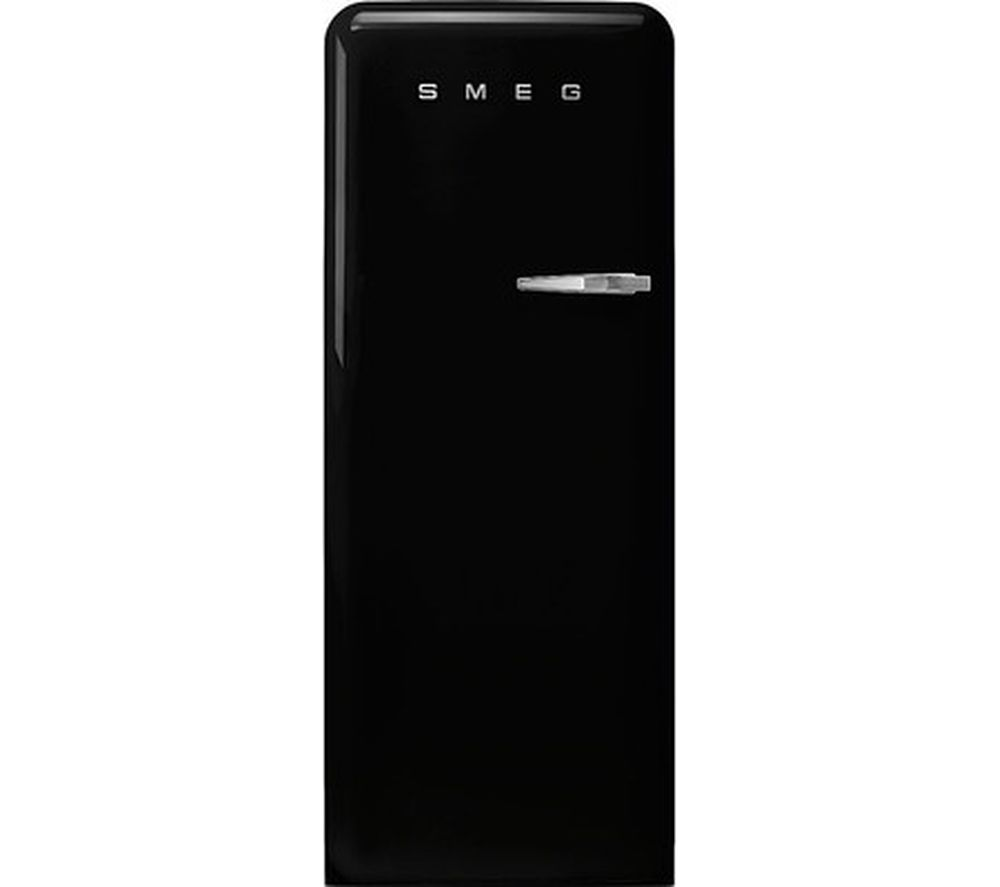 SMEG FAB28LBL3UK Tall Fridge - Black, Black