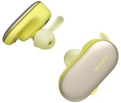SONY WF-SP900Y Wireless Bluetooth Headphones - Yellow