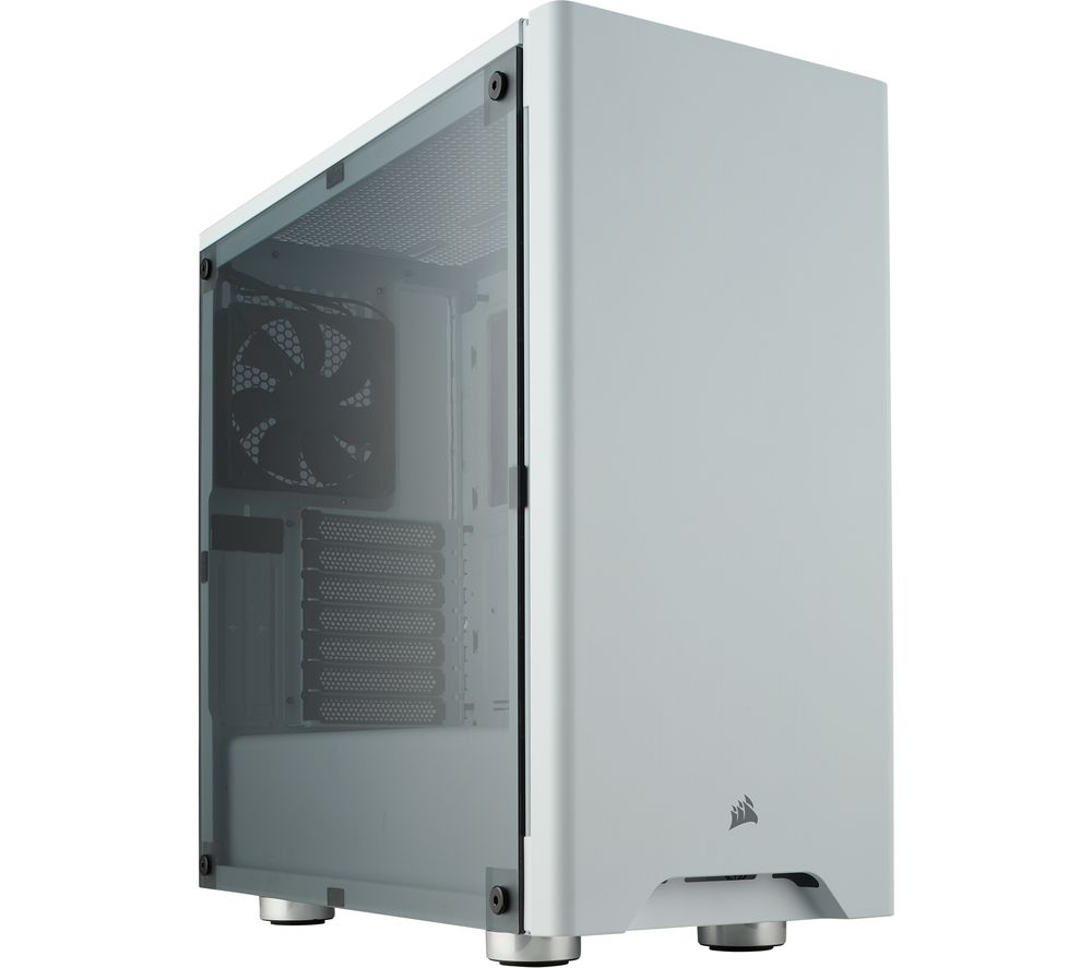 Image of CORSAIR Carbide Series 275R Mid-Tower ATX PC Case - Acrylic White, White