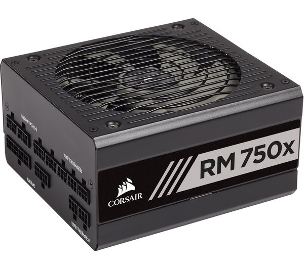 Image of CORSAIR RM750x Modular ATX PSU - 750 W