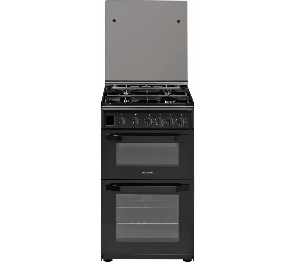 HD5G00CCBK 50 cm Gas Cooker - Black, Black