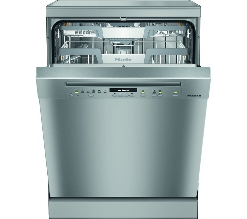 MIELE G7102SC clst Full-size Dishwasher - Steel