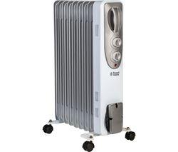 RHOFR5002 Portable Oil-Filled Radiator - White