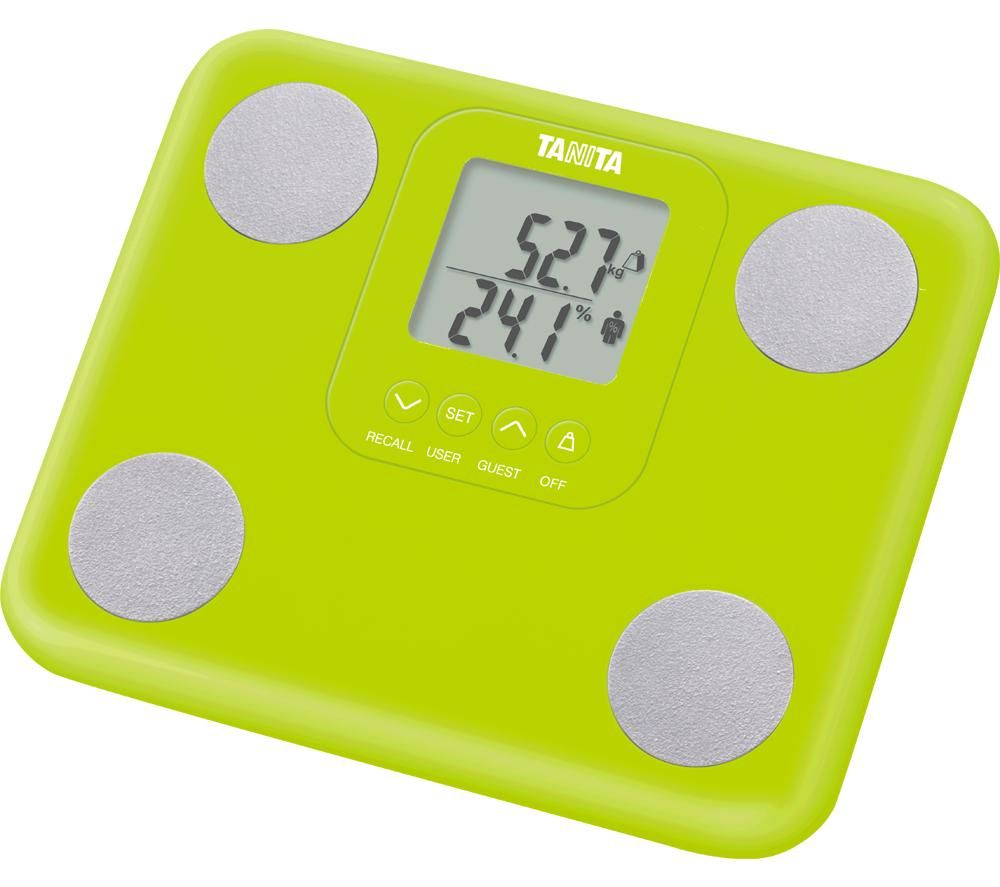 TANITA BC730 Innerscan Digital Bathroom Scale - Green