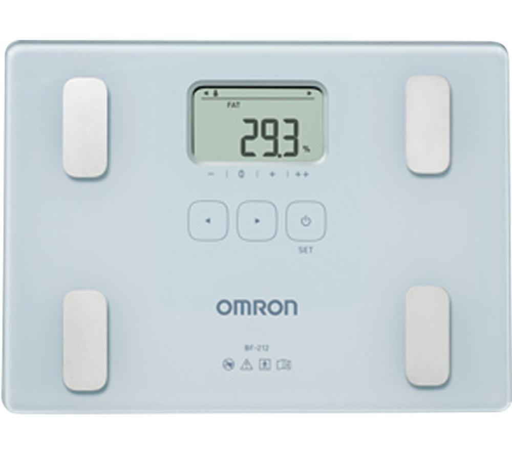OMRON BF212 Electronic Scale - Grey