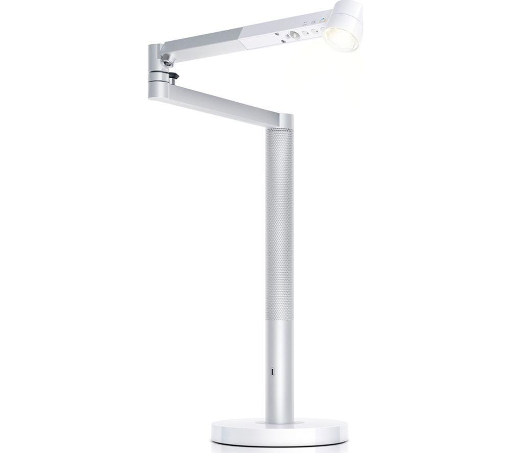 Image of DYSON Lightcycle Morph Desk Light - White & Silver, White