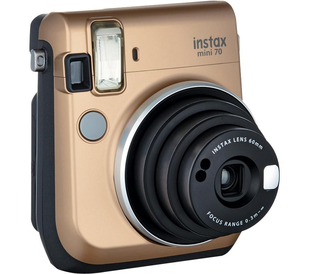 Instax Mini 70 Instant Camera Gold Gold