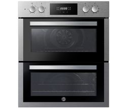 H-OVEN 300 HO7DC3E3078IN Electric Built-under Double Oven - Stainless Steel