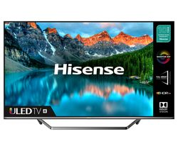 "HISENSE 55U7QFTUK 55"" Smart 4K Ultra HD HDR QLED TV with Amazon Alexa Best Price, Cheapest Prices"