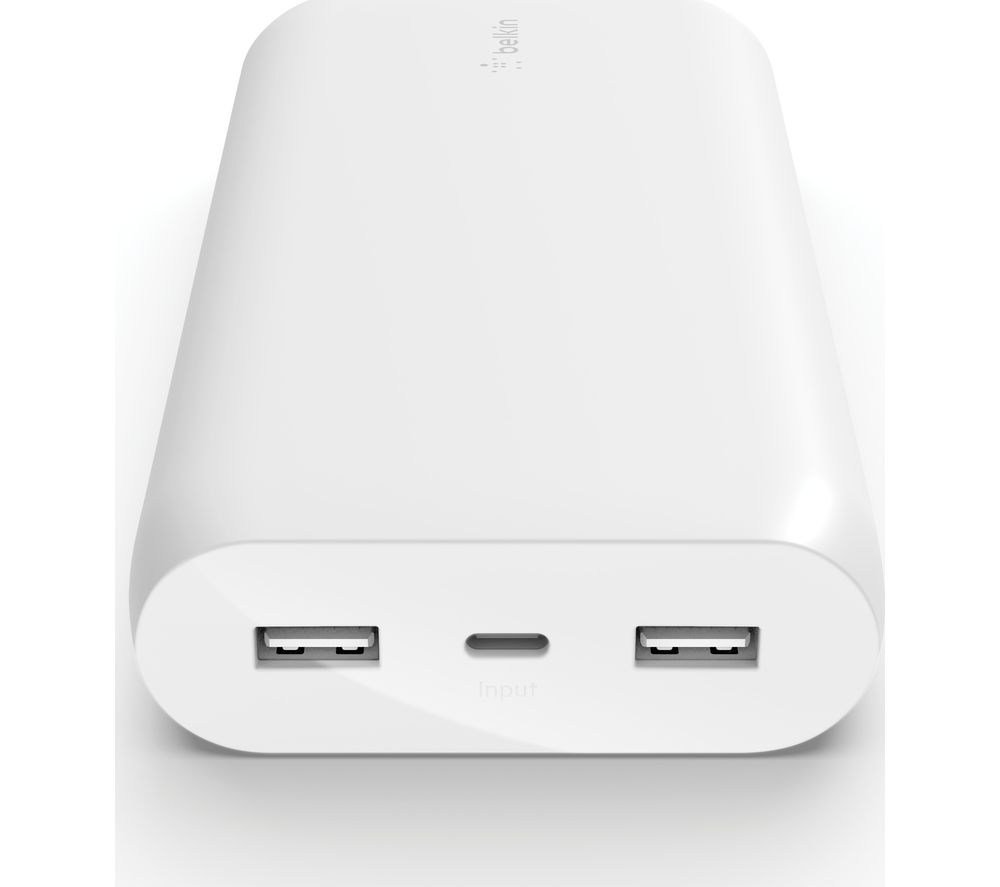 BELKIN BPB003btWT Portable Power Bank - White