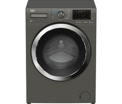 Ultrafast WDEX854044Q0G Bluetooth 8 kg Washer Dryer - Graphite