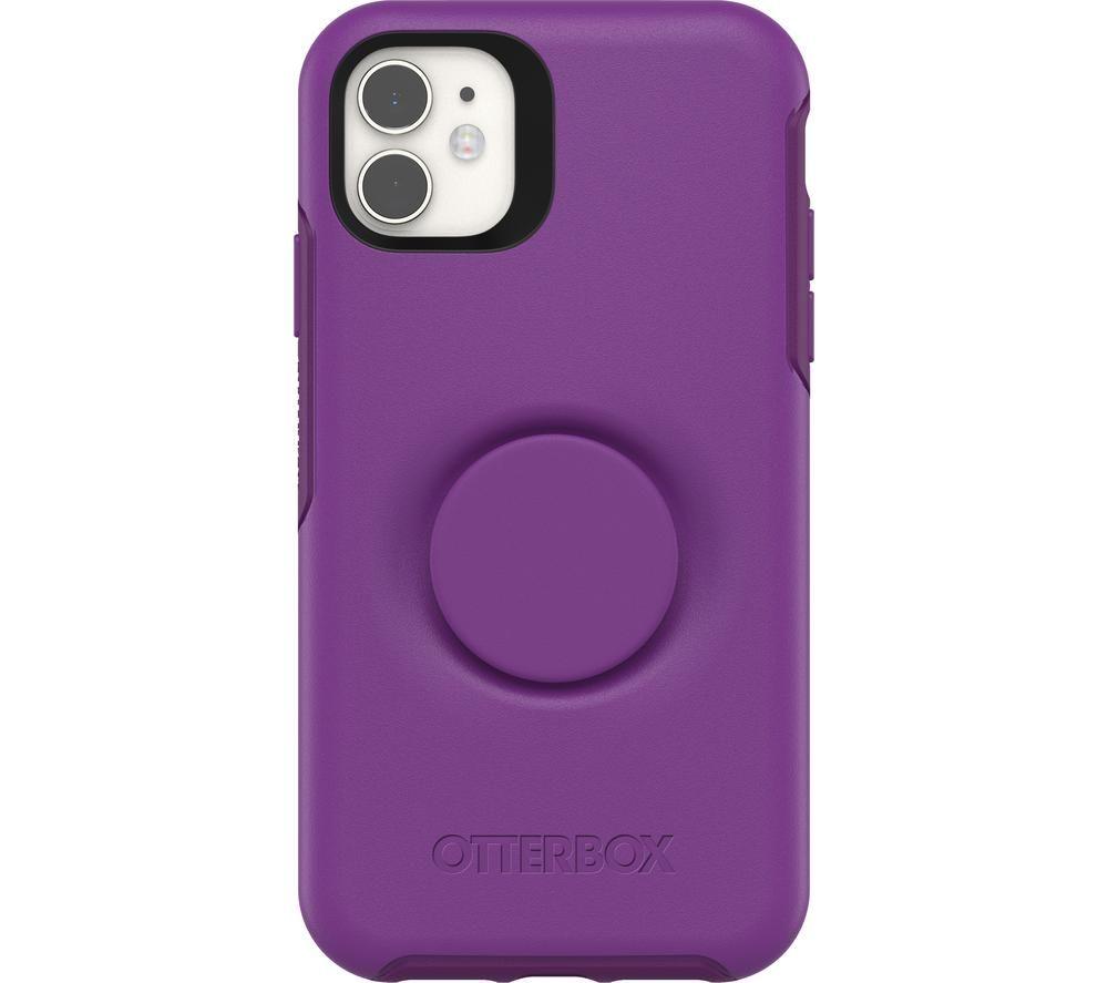 OTTERBOX Otter + Pop Symmetry Apple iPhone 11 Case - Purple